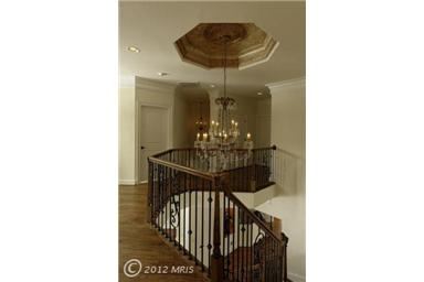 upstairs stairwell
